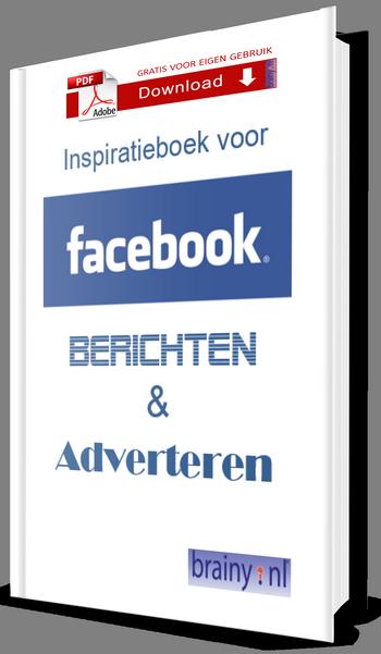 Download gratis het Facebook inspiratie e-book