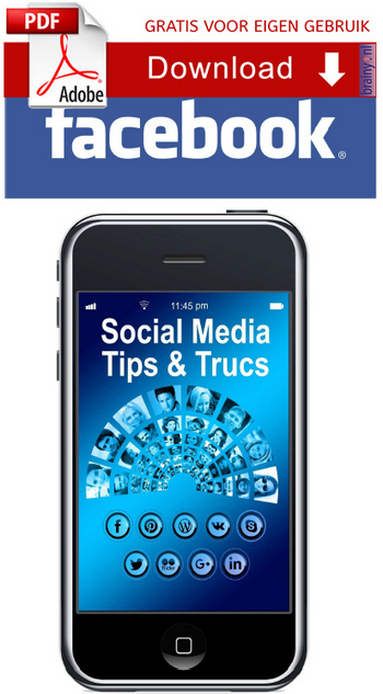 Download gratis het Facebook tips en trucs e-book